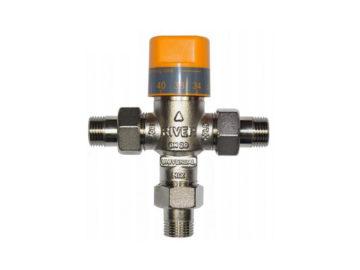 Mieszacze termostatyczne i mechaniczne CWU